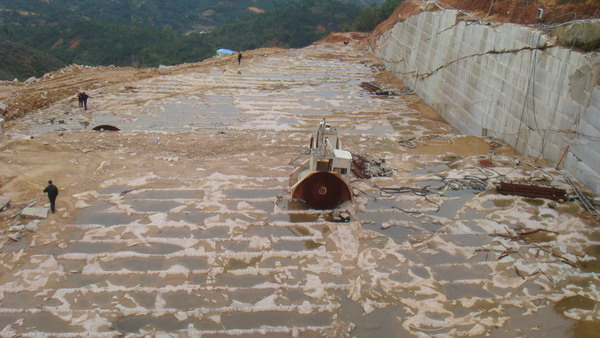 Chinese Golden Leaf Granite Quarry