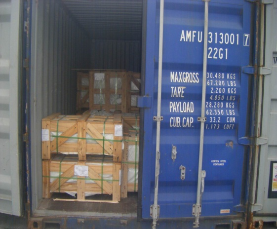 container loadding
